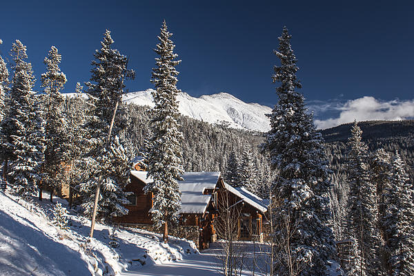 Landscape Photograph - Colorado Mountain House by Michael J Bauer