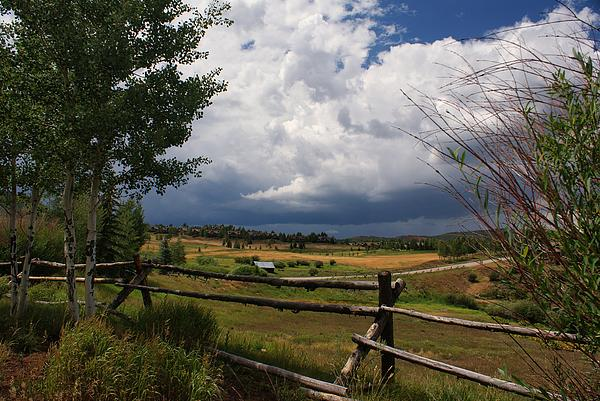 Landscape Photograph - Colorado Ranch by Michael J Bauer