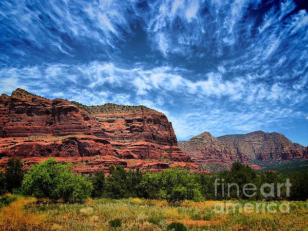 Arid Climate Photograph - Courthouse Butte Sedona Arizona by Amy Cicconi