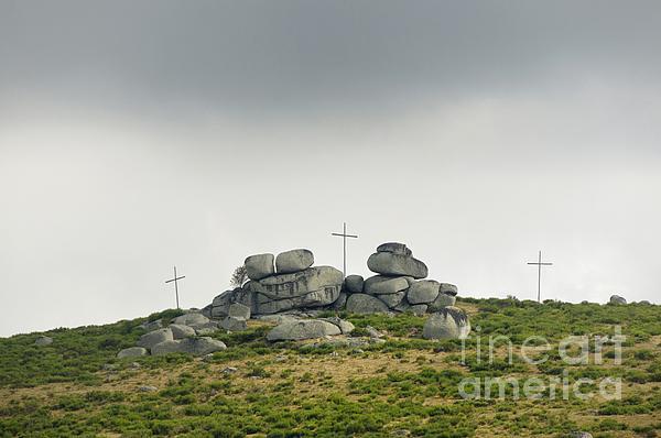 Belief Photograph - Cross by Bernard Jaubert