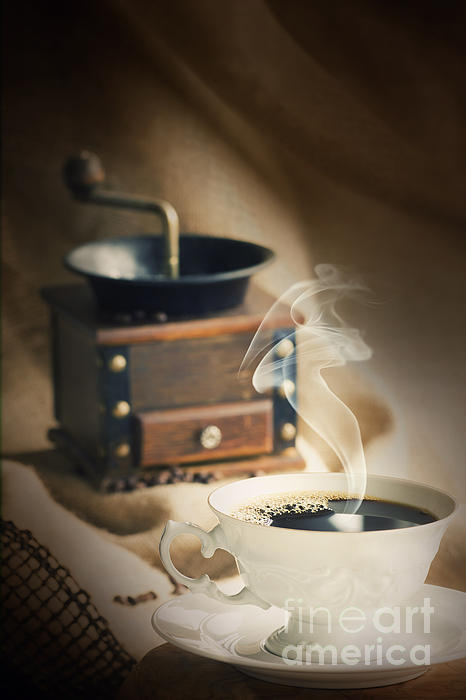Addiction Photograph - Cup Of Coffee by Mythja  Photography