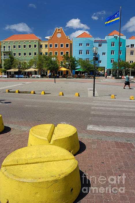Willemstad Photograph - Curacaos Colorful Architecture by Amy Cicconi