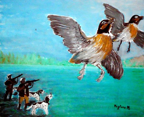 Flight Painting - Escape by Mauro Beniamino Muggianu