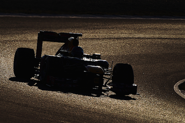 F1 Testing In Jerez - Day Three Photograph by Clive Mason