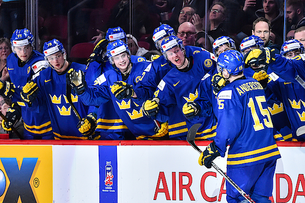 Finland V Sweden - 2017 IIhf World Junior Championship Photograph by Minas Panagiotakis