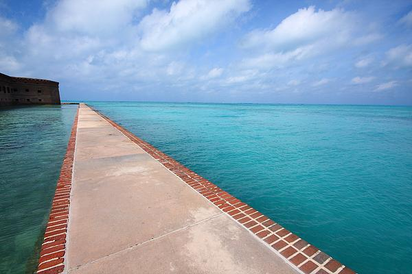 Fort Photograph - Fort Jefferson At Dry Tortugas National Park by Jetson Nguyen