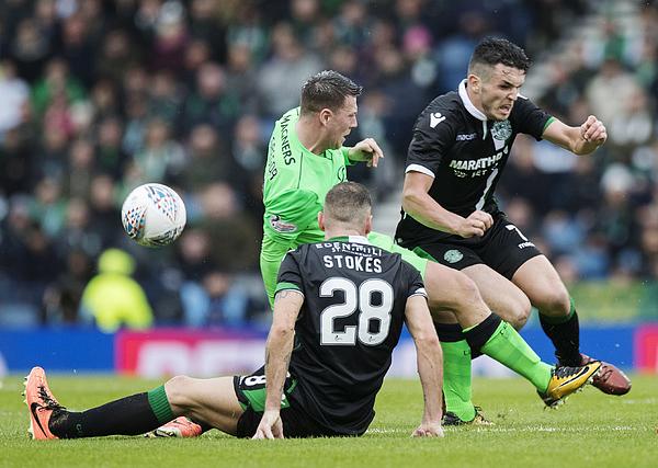 Hibernian V Celtic - Betfred League Cup Semi Final 1 Photograph by Steve Welsh