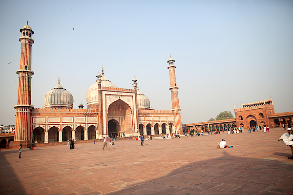 Jama Masjid, New Delhi, India Photograph by BDphoto