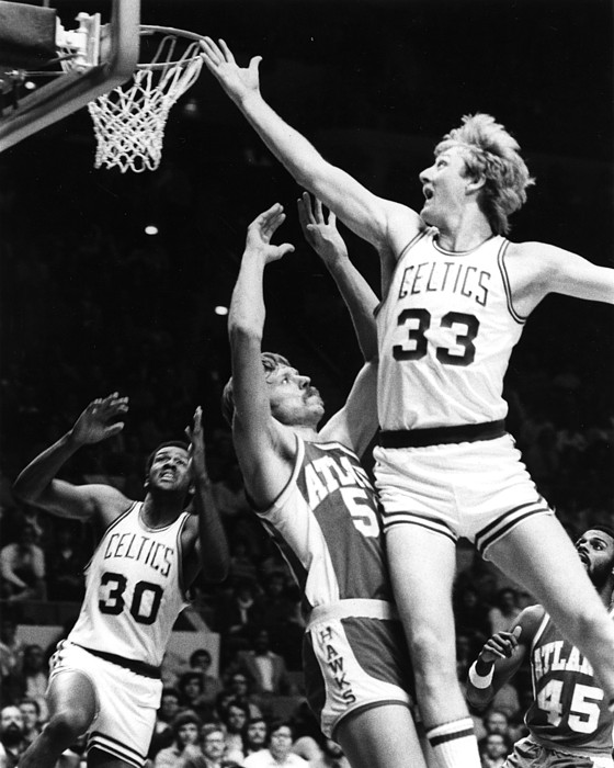 Classic Photograph - Larry Bird by Retro Images Archive