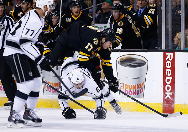 Los Angeles Kings V Boston Bruins Photograph by Jared Wickerham