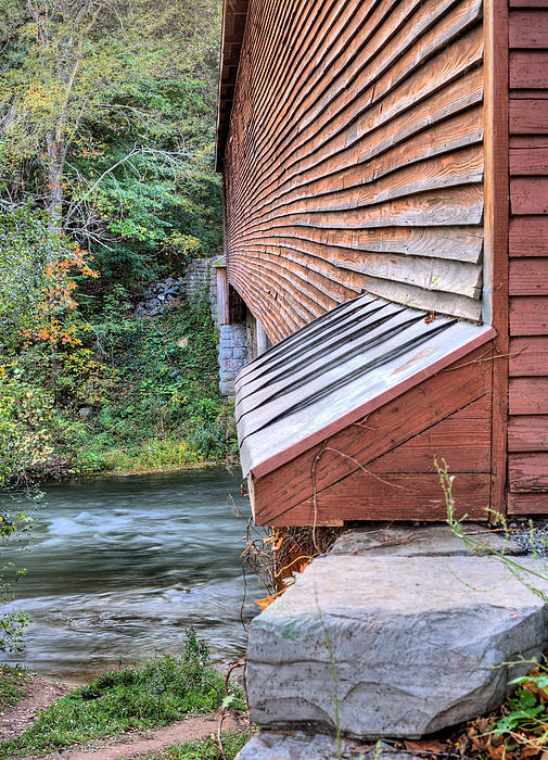 Covered Bridge Photograph - Meems Bottom by JC Findley