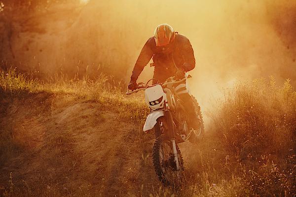 Motocross Rider 1 Photograph by Mikkaphoto