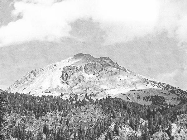 Frank Wilson Photograph - Mount Lassen by Frank Wilson