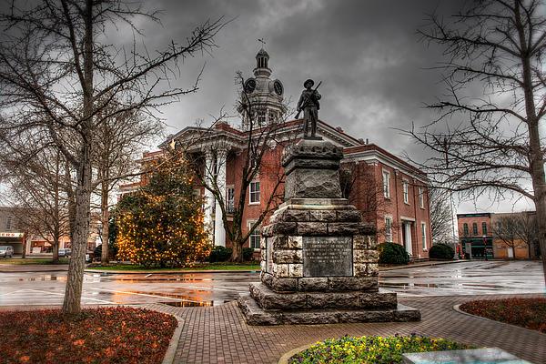 Capital Photograph - Murfreesboro Town Hall by Brett Engle