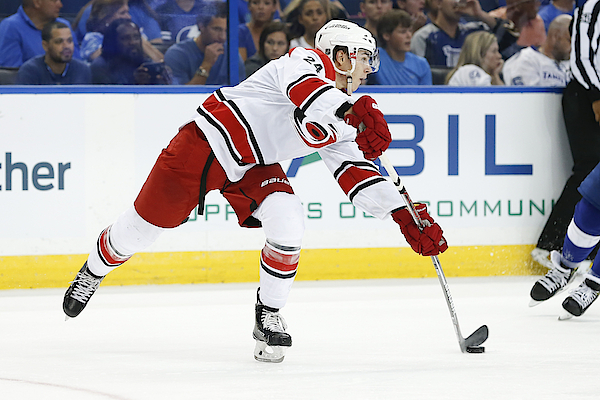 Nhl: Sep 27 Preseason - Hurricanes At Lightning Photograph by Icon Sportswire
