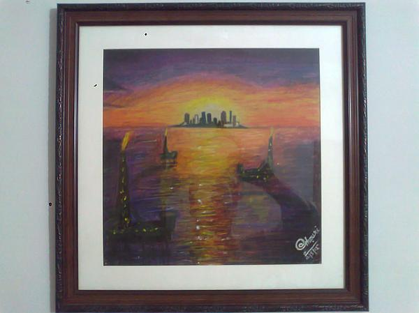 Seascape Painting - None by A Ghouri
