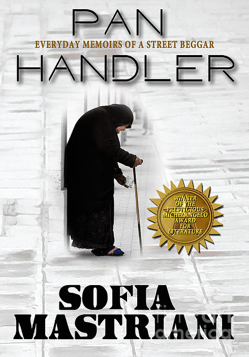Book Cover Photograph - Pan Handler by Mike Nellums