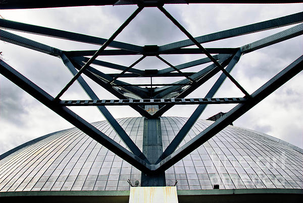 Architecture Photograph - Perspectives Mellon Arena by Amy Cicconi