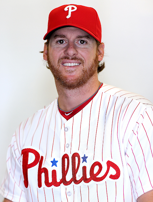 Philadelphia Phillies Photo Day Photograph by Mike Ehrmann
