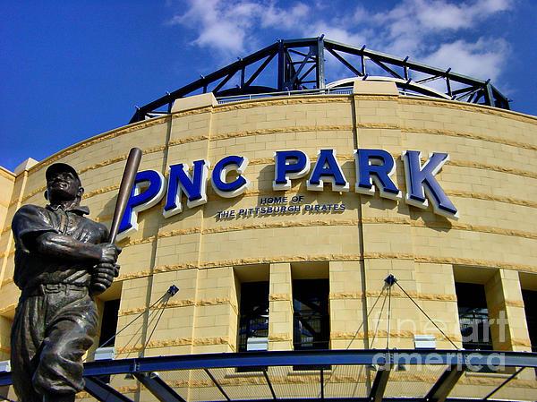 Ball Park Photograph - Pnc Park Baseball Stadium Pittsburgh Pennsylvania by Amy Cicconi