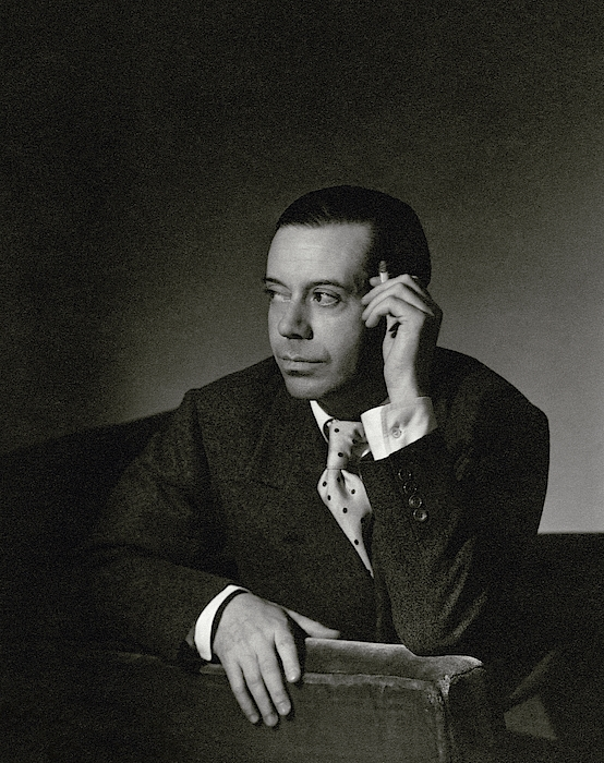 Portrait Of Cole Porter Photograph by Horst P. Horst
