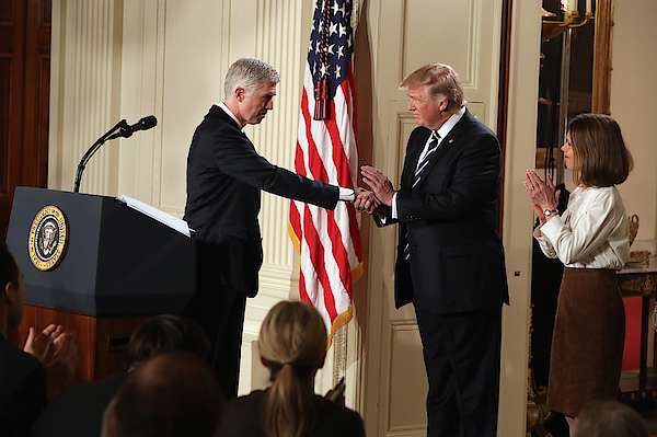President Trump Announces His Supreme Court Nominee Photograph by Chip Somodevilla