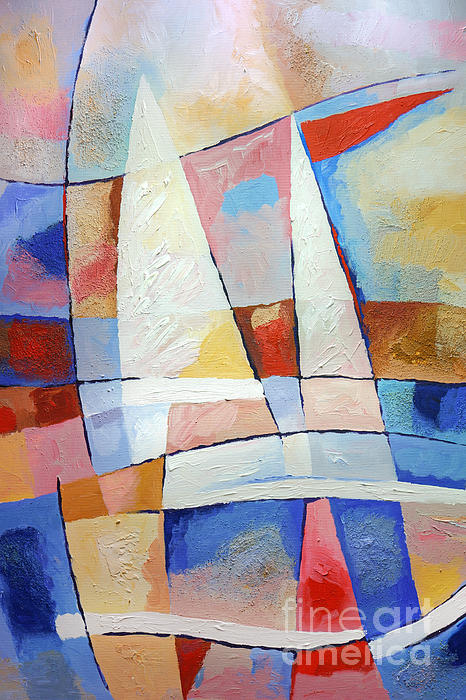 Sailing Joy Painting - Sailing Joy by Lutz Baar