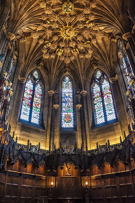 Abbey Photograph - St.giles Cathedral by Svetlana Sewell