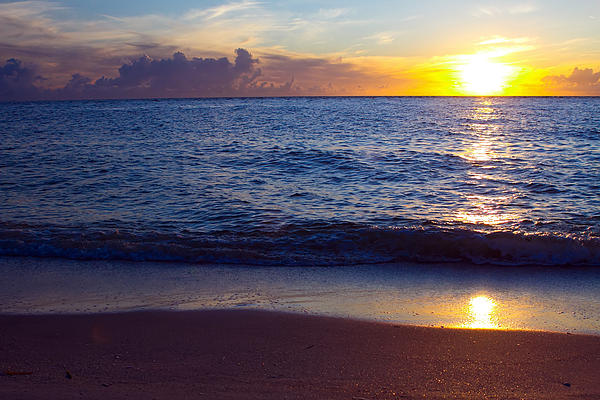 Atlantic Photograph - Sunset Over Boca Grande  Florida by Fizzy Image