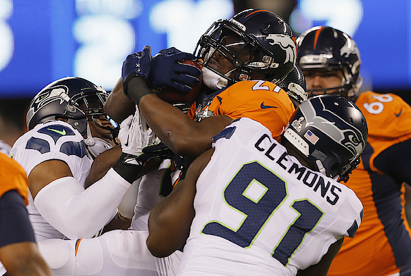 Super Bowl Xlviii - Seattle Seahawks V Denver Broncos Photograph by Kevin C. Cox