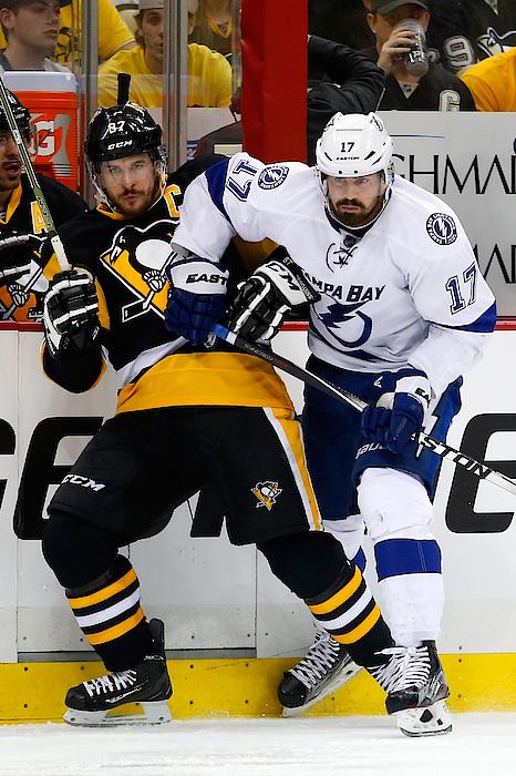 Tampa Bay Lightning V Pittsburgh Penguins - Game Seven Photograph by Justin K. Aller