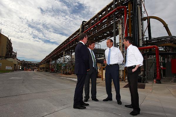 Tony Abbott Visits Adelaide As Marginal Seats Threatened Photograph by Lisa Maree Williams