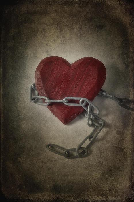 Heart Photograph - Unchain My Heart by Joana Kruse
