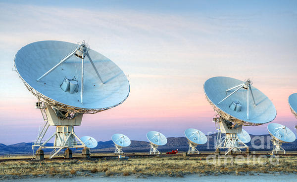 Vla Photograph - Very Large Array Of Radio Telescopes  by Bob Christopher