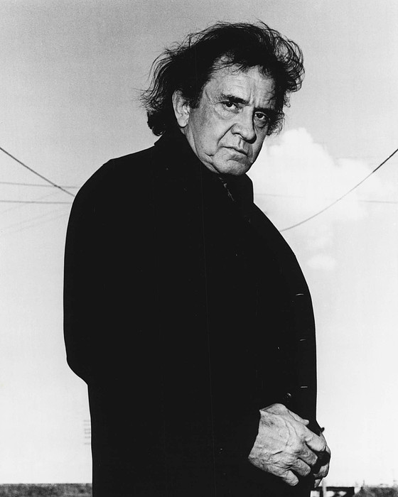New York Photograph - Johnny Cash by Retro Images Archive