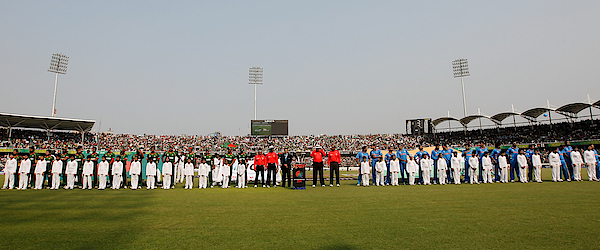 India V Bangladesh: Group B - 2011 Icc World Cup Photograph by Daniel Berehulak