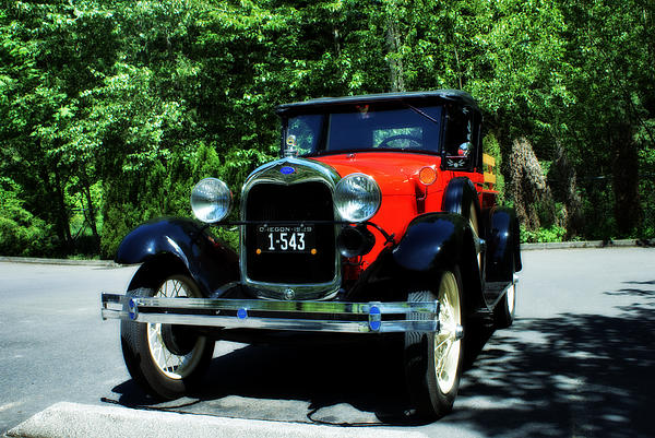 1929 Photograph - 1929 Ford by John Winner