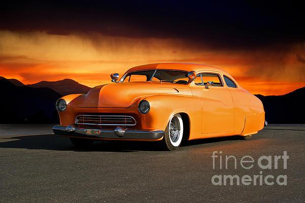 Auto Photograph - 1950 Mercury boulevard Cruiser by Dave Koontz