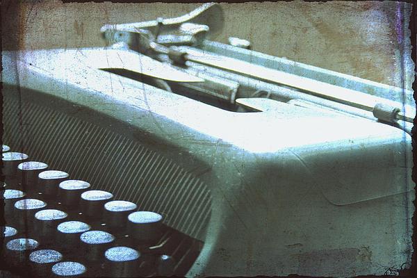 Typewriter Keys Photograph - 1952 Olivetti Typewriter by Georgia Fowler