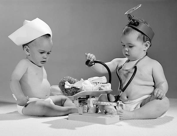 Image result for vintage doctor child