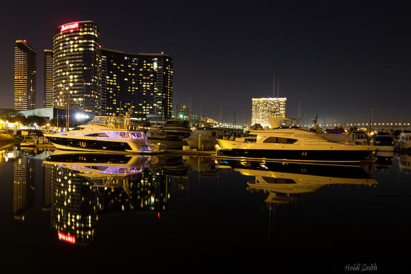 Architecture Photograph - After Dark by Heidi Smith