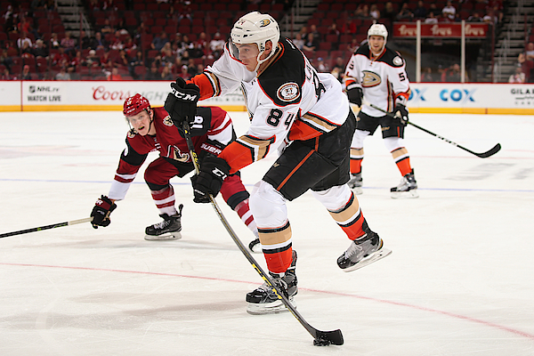 Anaheim Ducks V Arizona Coyotes Photograph by Christian Petersen