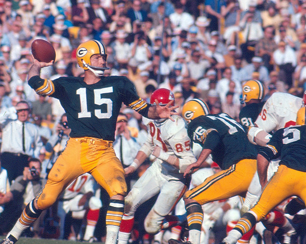 Classic Photograph - Bart Starr By Art Rickerby by Retro Images Archive
