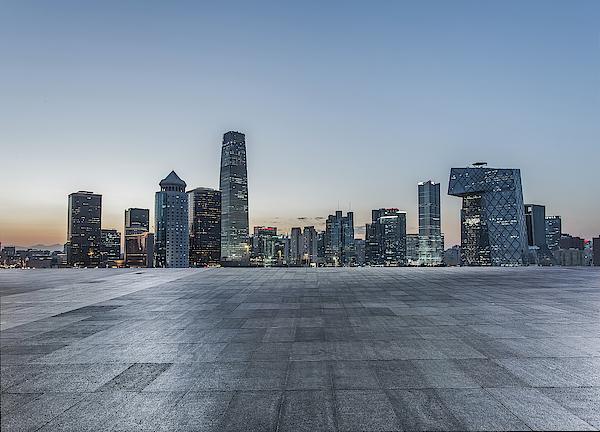 Beijing City Square Photograph by DuKai photographer