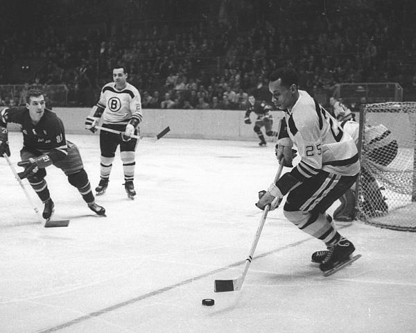 Boston Bruins V New York Rangers Photograph by B Bennett