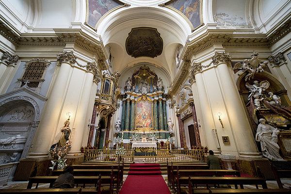 Painting Photograph - Church Of Santa Barbara Interior In Madrid by Artur Bogacki