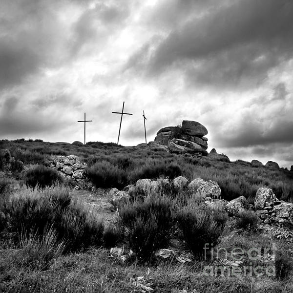 Outdoors Photograph - Cross by Bernard Jaubert