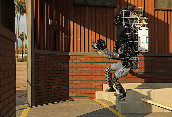 Darpa Robotics Challenge Showcases Cutting Edge In Artificial Intelligence Photograph by Chip Somodevilla