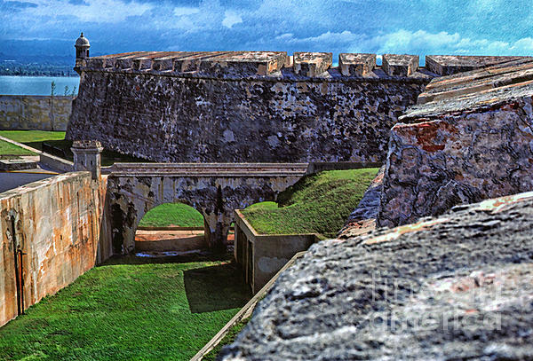 Puerto Rico Photograph - El Morro Fortress Old San Juan by Thomas R Fletcher