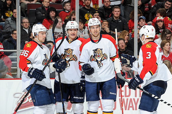 Florida Panthers V Chicago Blackhawks Photograph by Bill Smith
